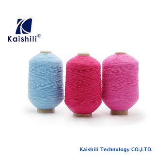 Colored nylon latex yarn , rubber covered yarn