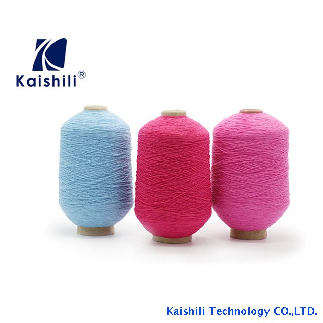 Factory Sale Various Knitted Rubber Covered Yarn Hot Sale Polyester Yarn for Socks