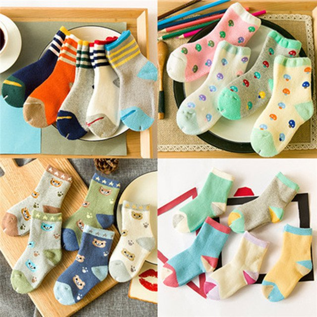 Socks for children soft socks