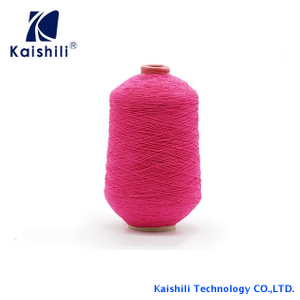 High Quality Polyester 90# Rubber Covered Yarn for Socks from China Supplier
