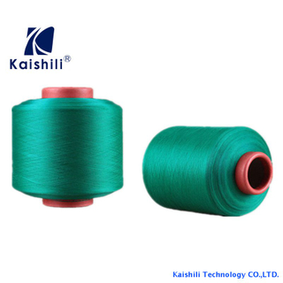 Customrized Polyester Single Spandex Covered Yarn SCY 30100 For Knitting Socks