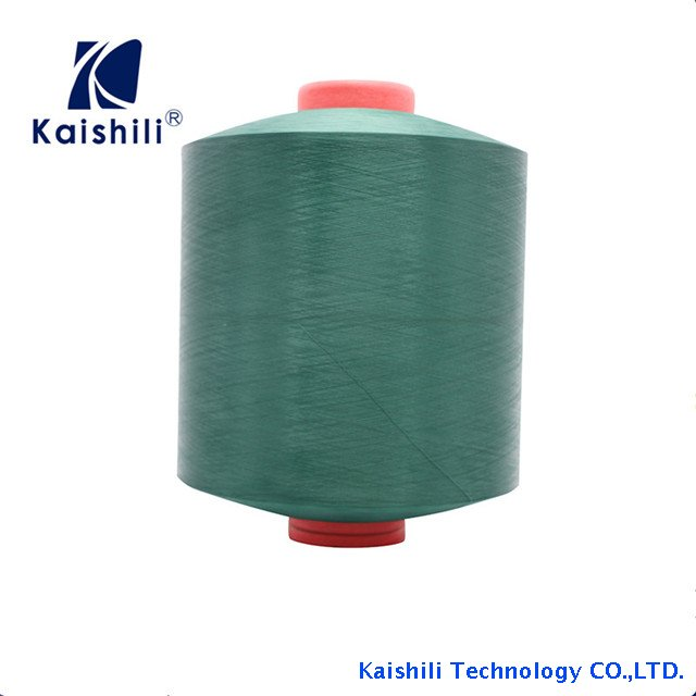 Newest Design High Quality 100% Polyester Dope Dyed Yarn 150D/48F