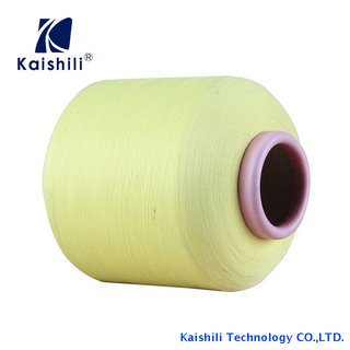 High Stretch Polyester Yarn Single Spandex Covered Yarn for Socks And Production