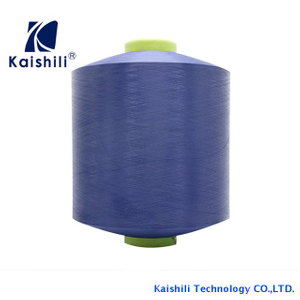 Supplier imitation nylon dyed yarn , high stretch polyester yarn