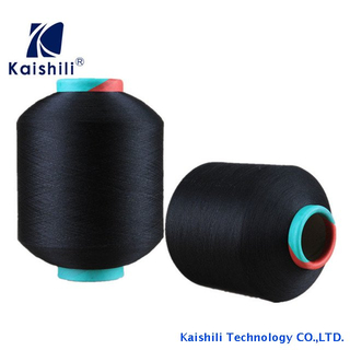 Various Color Yarns of Polyester Single Spandex Covered Yarn 3075 for Socks, Weaving Products