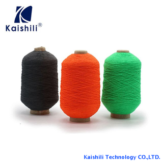 China Manufacturer High Elastic Latex Rubber Covered Polyester Yarn for Socks Knitting