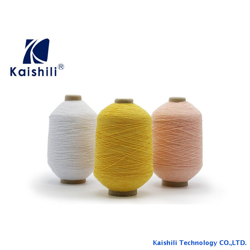 High Quality 120#/75D/75D Rubber Covered Yarn for Socks
