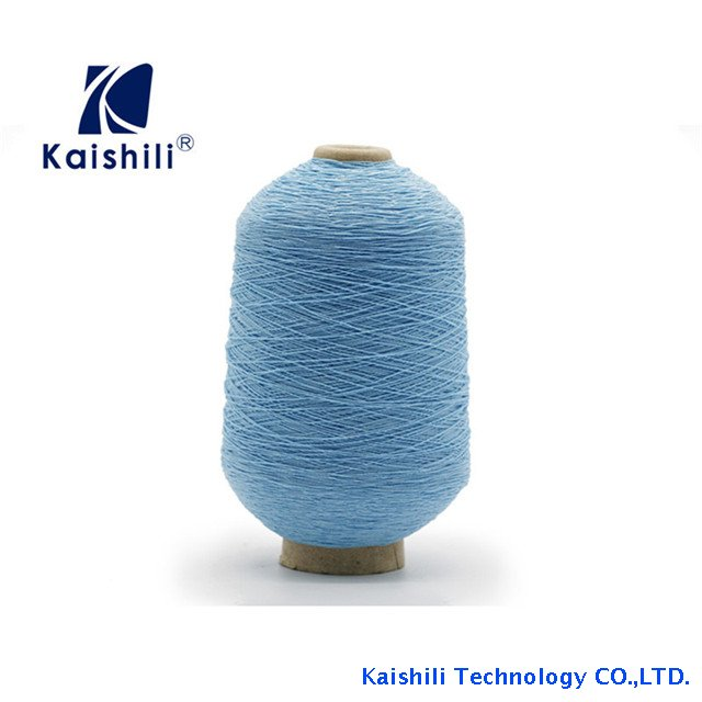 100% Nylon Elastic Rubber Spandex Covered Yarn Thread Yarn for Socks